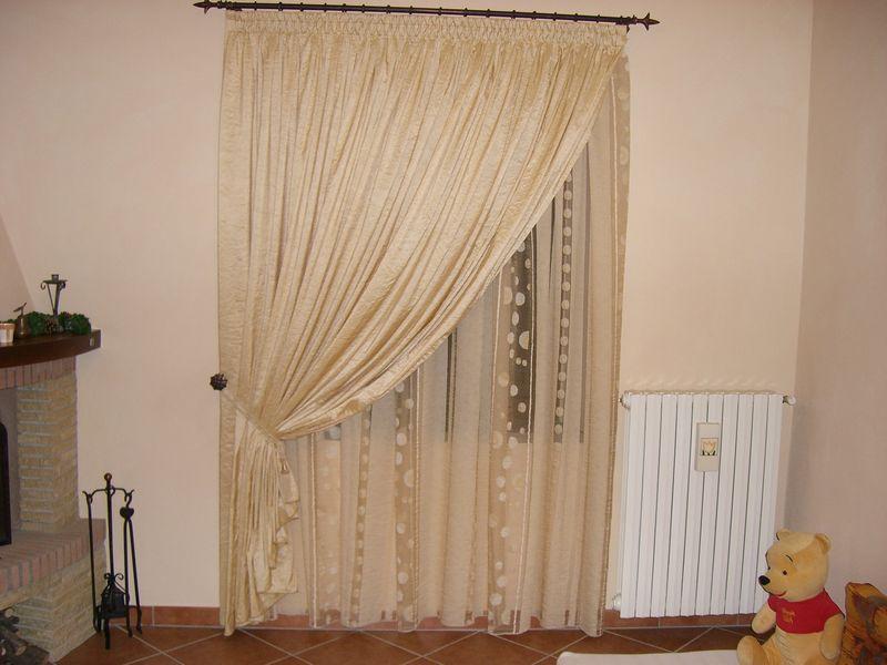 Aral tendaggi scheda prodotto tende da arredamento - Supporti per tende da interno ...