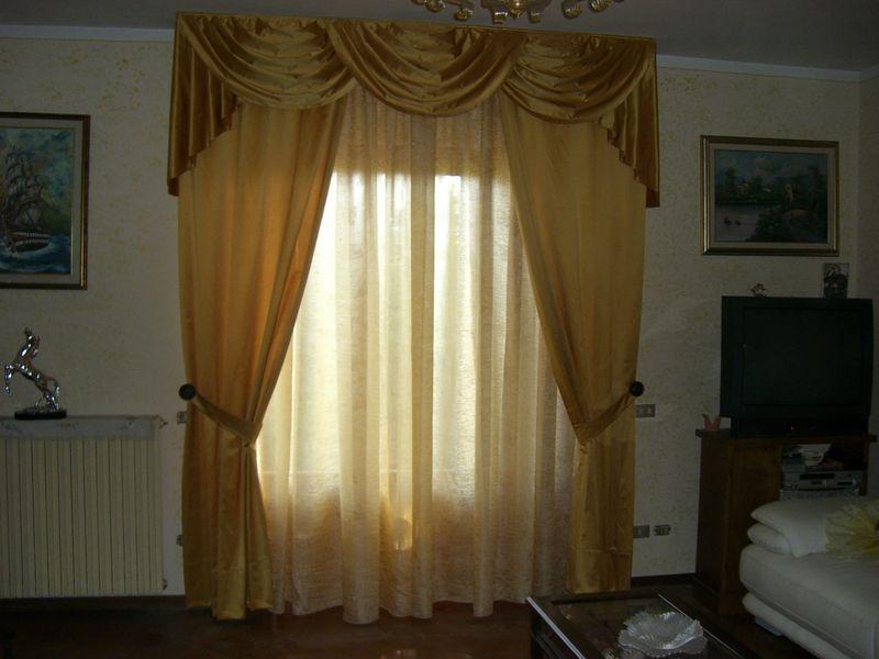Aral tendaggi scheda prodotto tende da arredamento tende con mantovane - Tende con mantovana per camera da letto ...