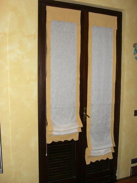 Tende a vetro porta finestra la scelta giusta variata - Tende per porta finestra ...